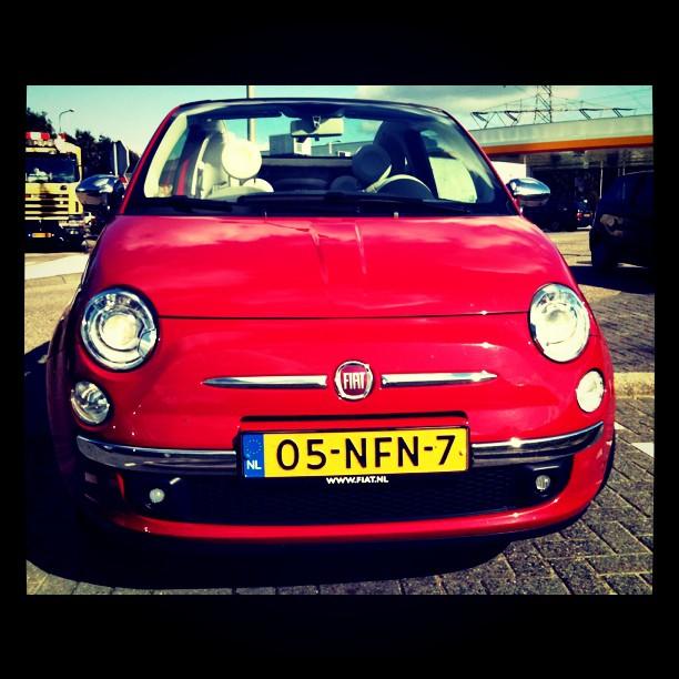 Fiat500C snoet