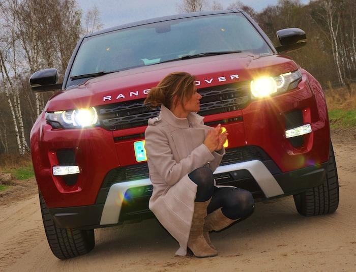 Range Rover Evoque-femmefrontaal-voor
