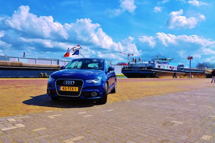 Audi A1 -femmefrontaal-voor
