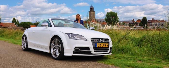 Audi TTS femmefrontaal heel