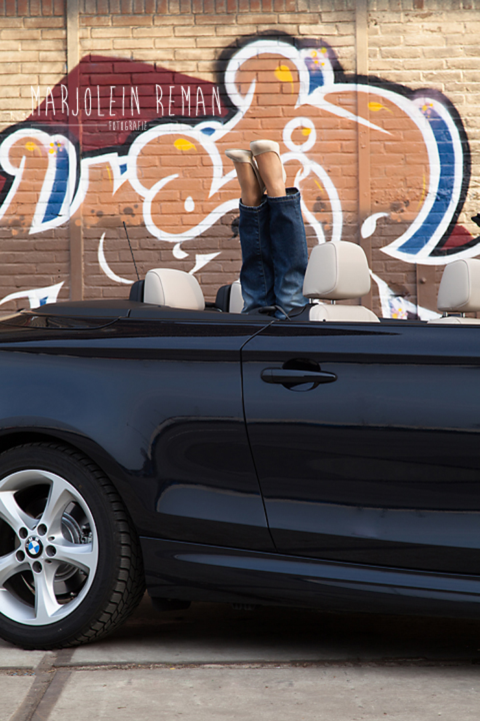 BMW 1 serie cabriolet_femmefrontaal_opendak