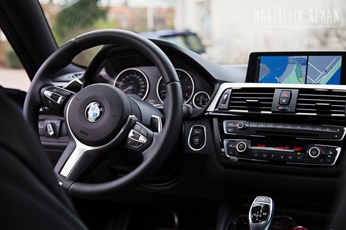 BMW 4 serie coupe femmefrontaal