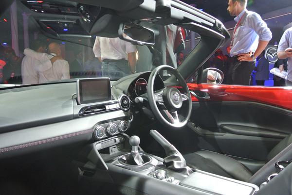 Mazda MX5 interieur