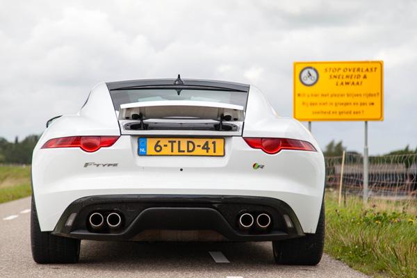 Jaguar FTPE achterkant