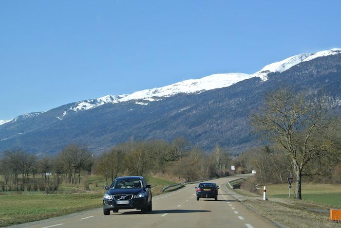 Met Michelin CrossClimate band op weg naar bergen