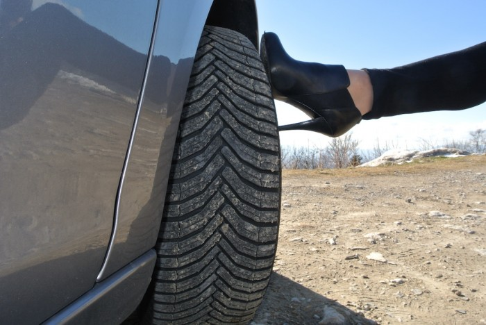 Michelin CrossClimate band-femmefrontaal
