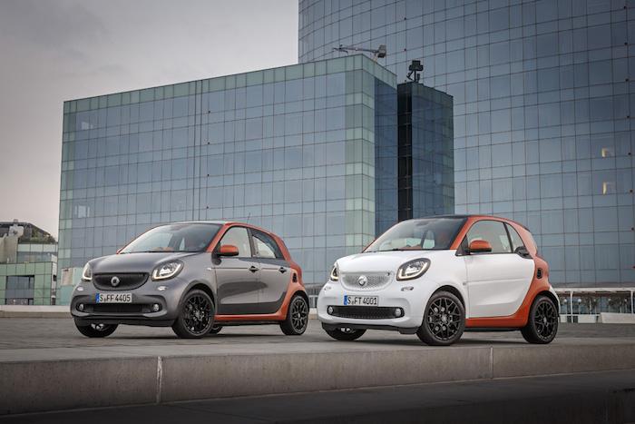 Mercedes-Benz Fahrveranstaltung smart forfour Barcelona 2014