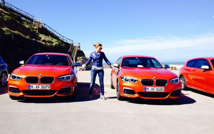 BMW 1 Serie - femmefrontaal