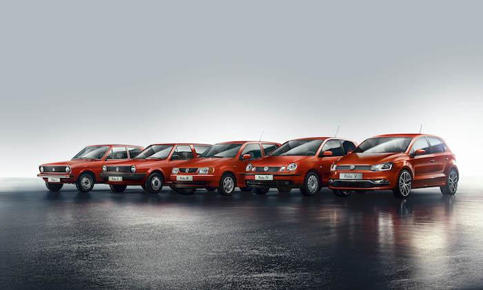 Techno Classica 2015 Volkswagen Classic feiert 40 Jahre Polo
