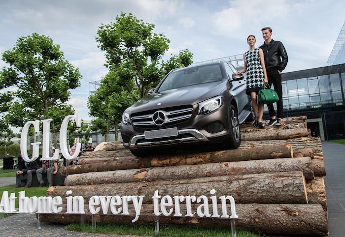 Mercedes-Benz GLC offroad ;)