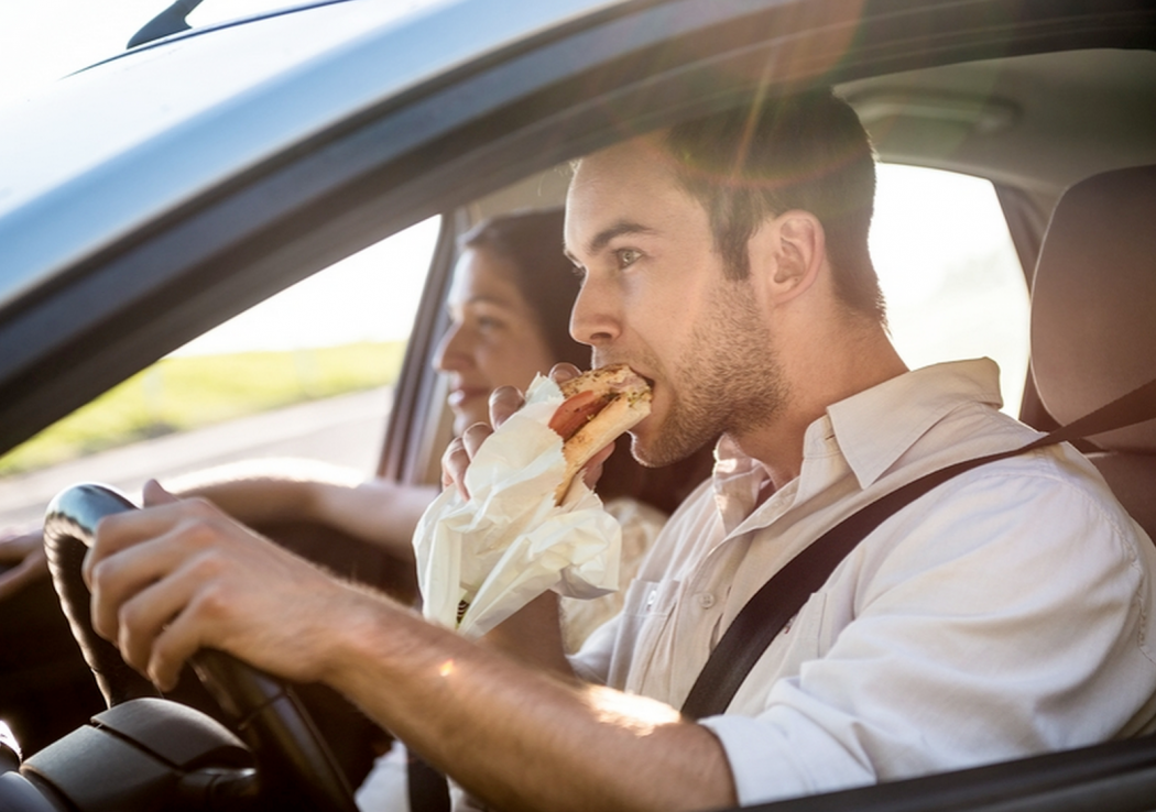 eten onderweg