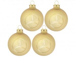 Mercedes kerstbal
