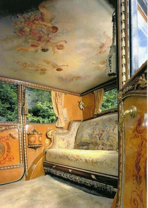 Rolls Royce Phantom 1- Louis XVI interieur (1926)