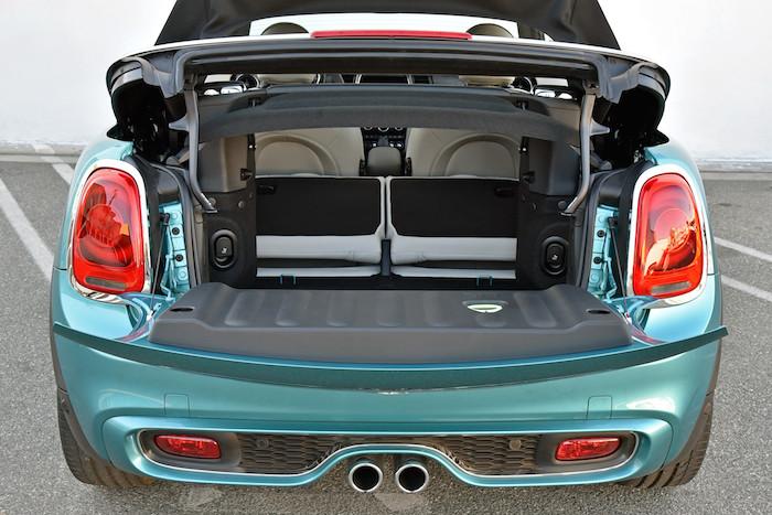New MINI cabrio