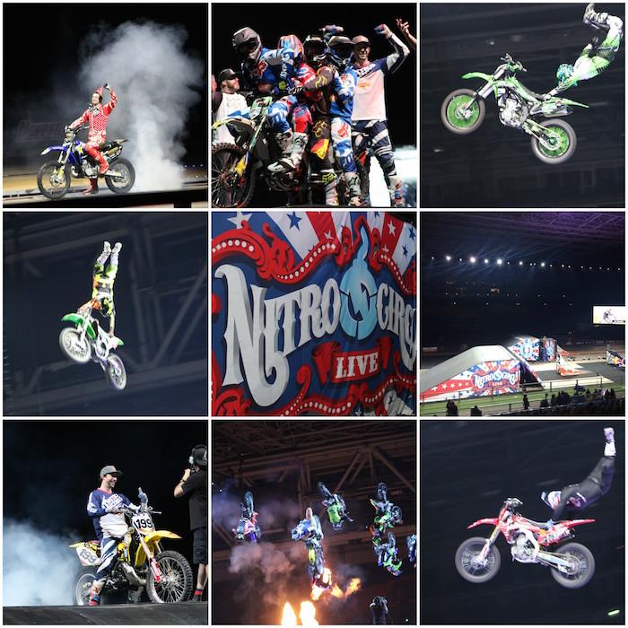 Nitro Circus collage