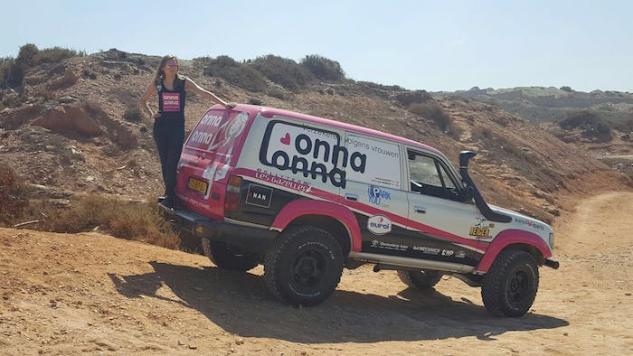 onna-onna rallyteam Libya Rally 2016