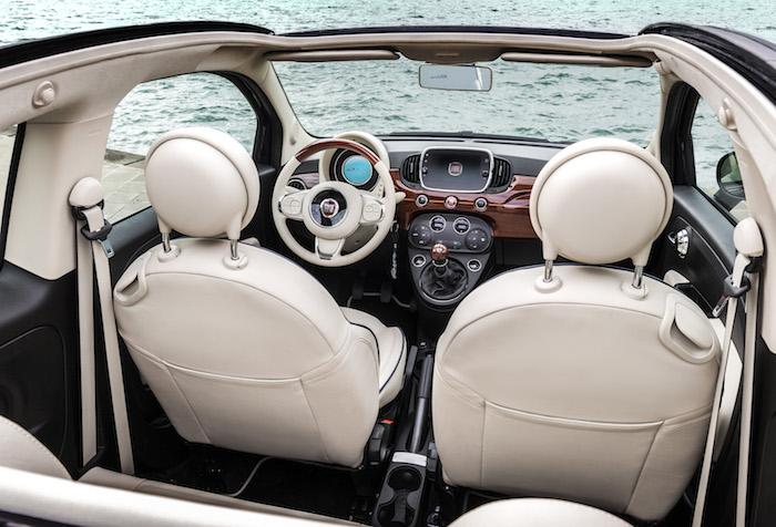 Op Slag Verliefd Op De Stijlvolle Fiat 500 Riva Femmefrontaal
