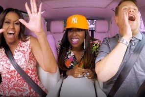 Carpool Karaoke met Michelle Obama