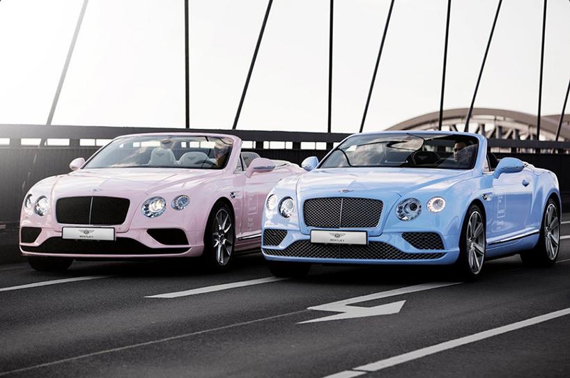 Bentley Pantone