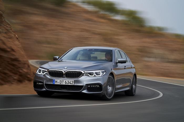 nieuwe BMW 5 serie