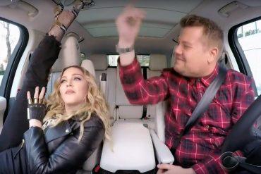 Carpool Karaoke, Madonna