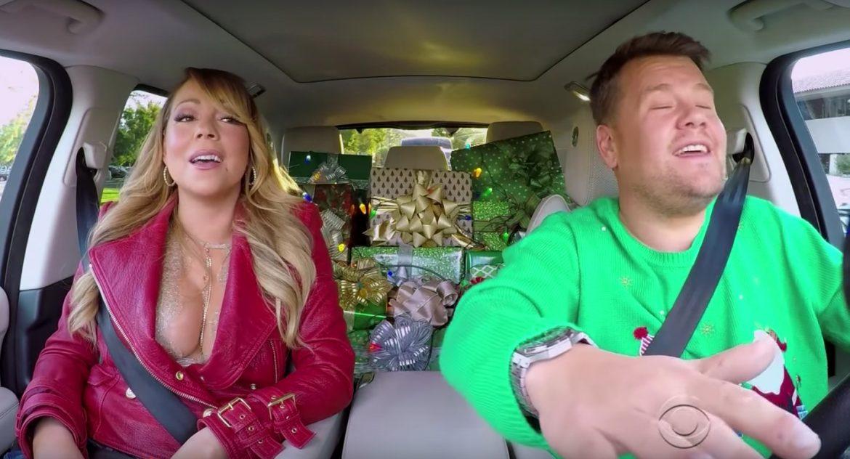 Mariah Carey en James Corden