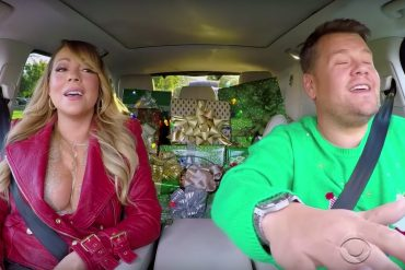 Mariah Carey en James Corden