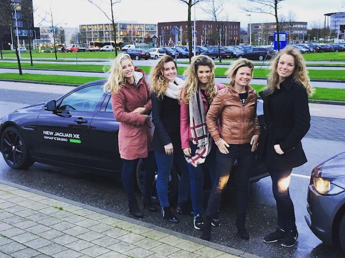 Event: beurs jaarbeurshal Utrecht shuttle service voor klanten VanAmeyde i.s.m. Jaguar.