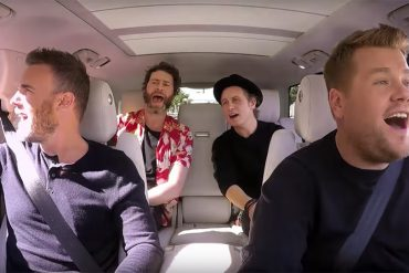 Take That in Carpool Karaoke