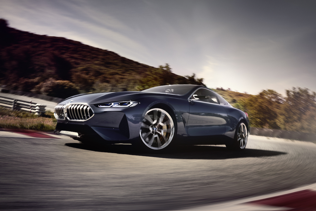 nieuwe BMW 8 serie coupe