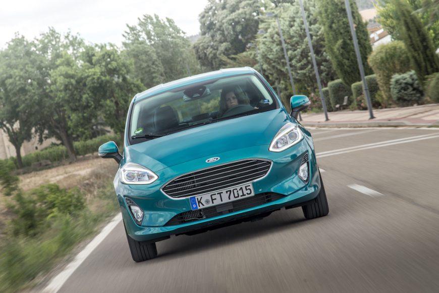 nieuwe Ford Fiesta