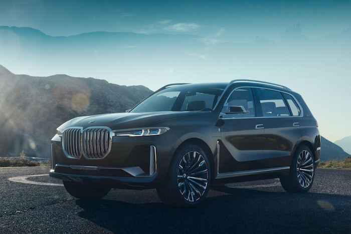 IAA BMW Concept X7