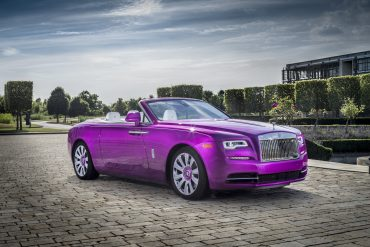 Rolls-Royce Dawn in Fuxia