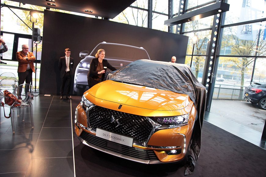 DS 7 Crossback! Tadaa!