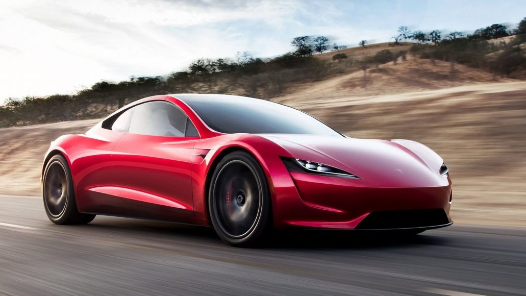 nieuwe Tesla Roadster