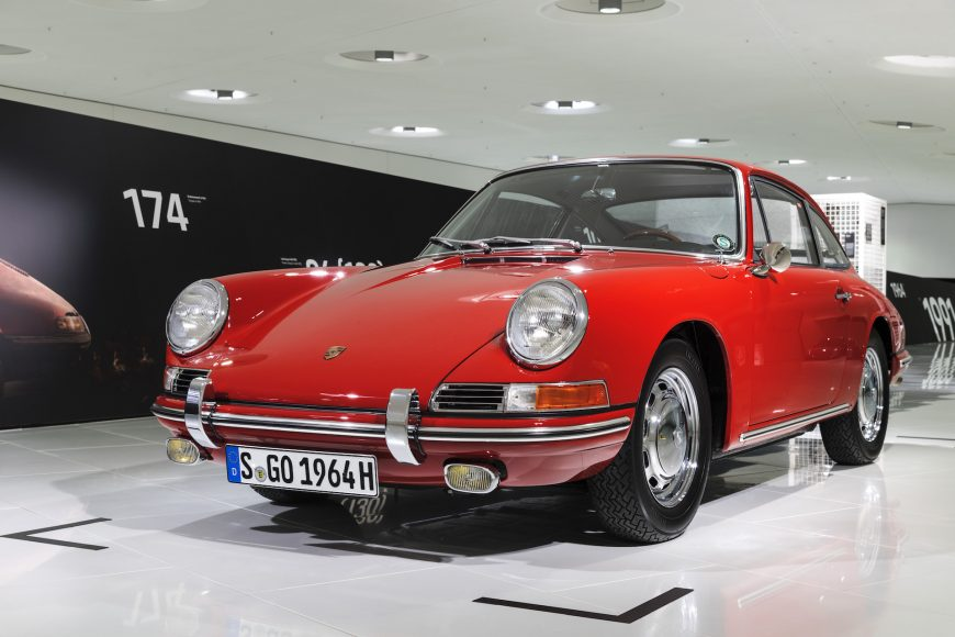 Porsche 911, Porsche museum