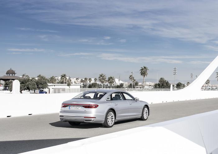 nieuwe auto's 2018, Audi A8