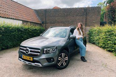 FemmeFrontaal Mercedes-Benz GLB