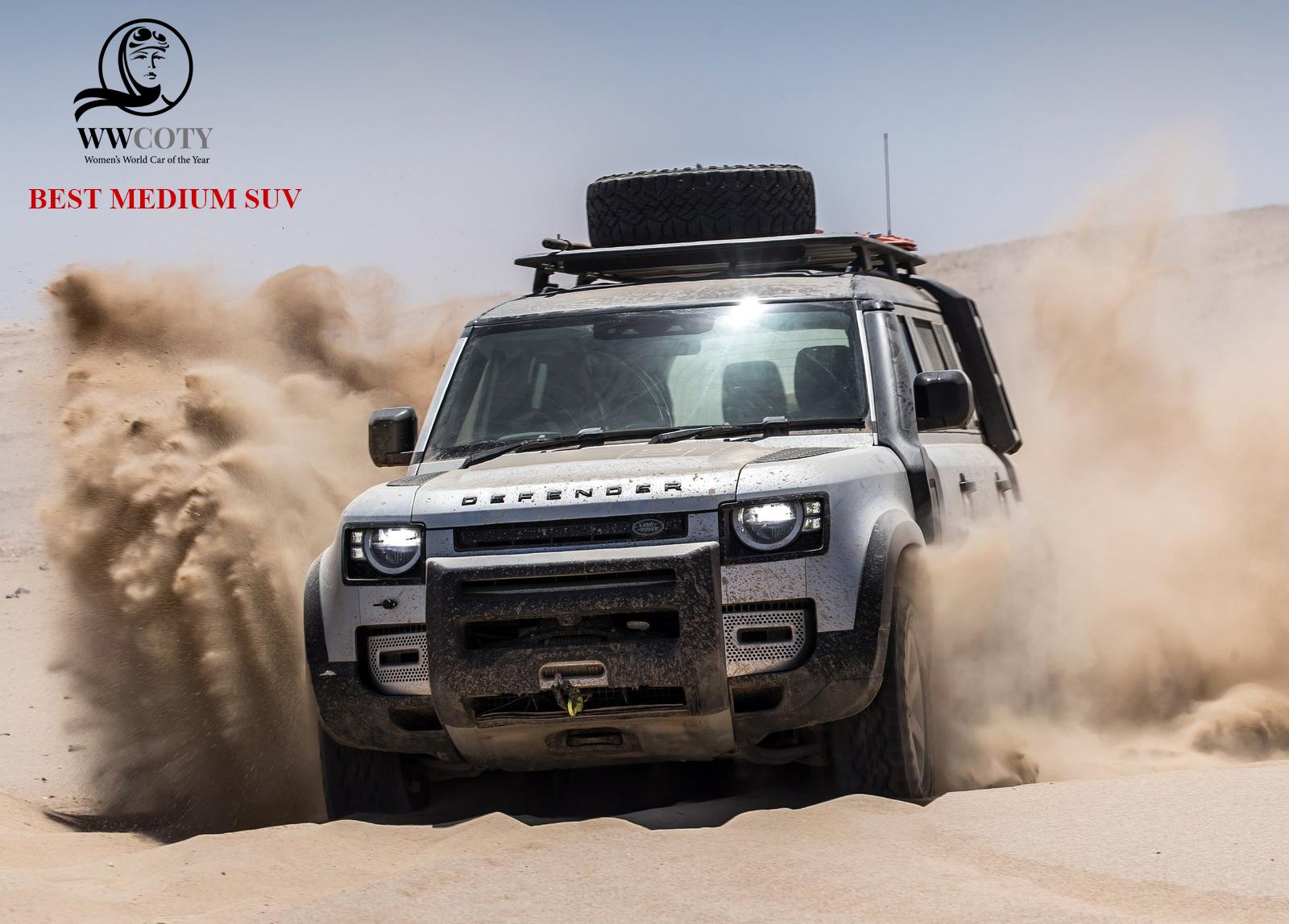 Best Medium SUV Land Rover Defender