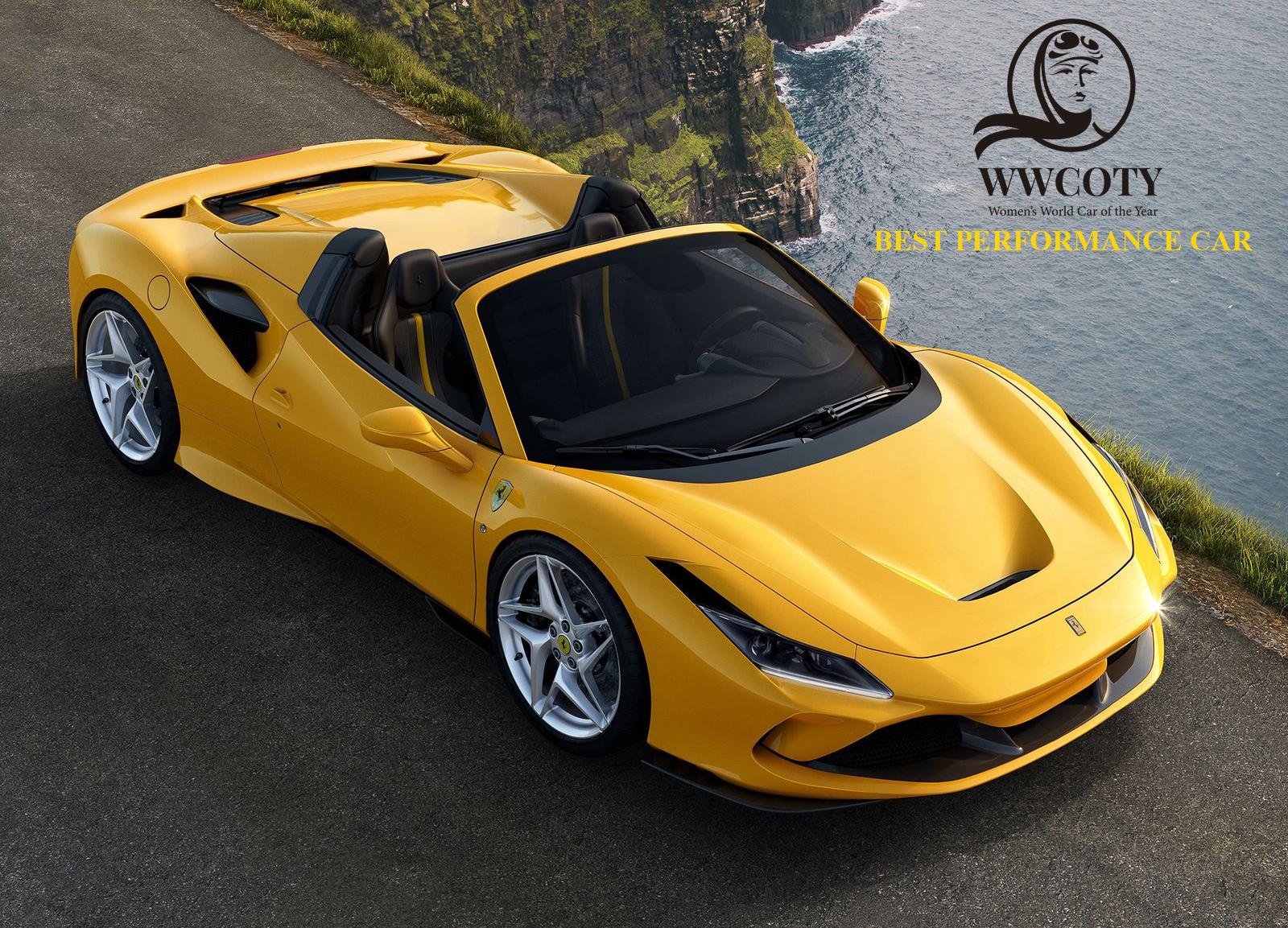 Best Performance Car Ferrari F8 Spider