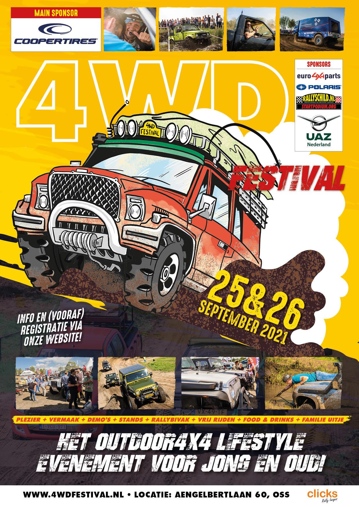 4WD Festival 2021 folder