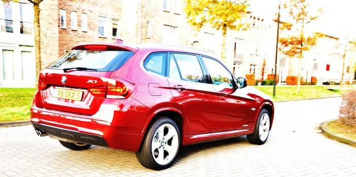 BMW X1 achter