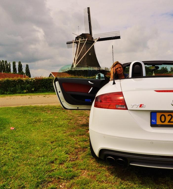 Audi TTS Femmefrontaal achter