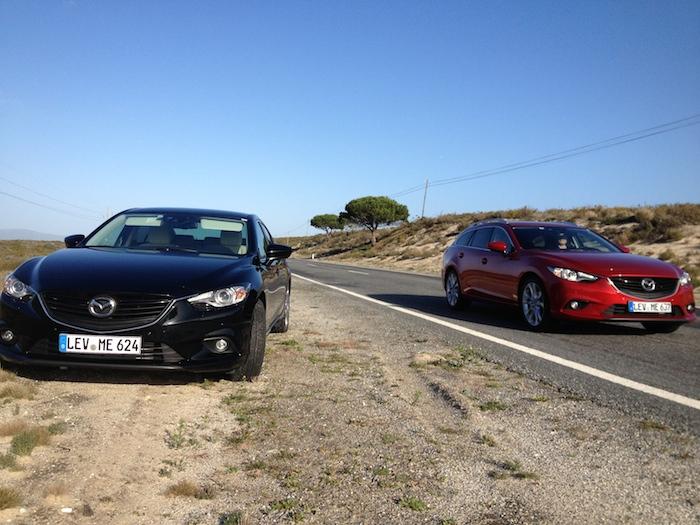 Mazda6-sedan en station_femmefrontaal