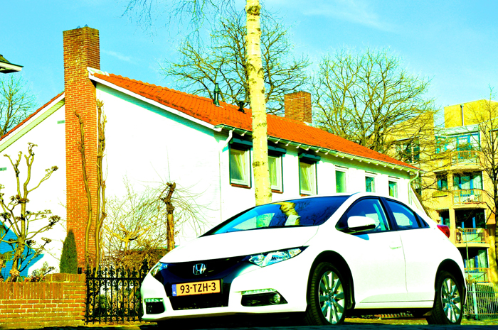 Honda Civic_femmefrontaal_voor
