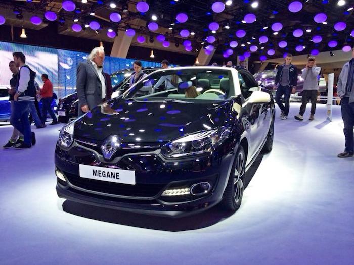 Renault Megane_Autosalon Brussel_femmefrontaal
