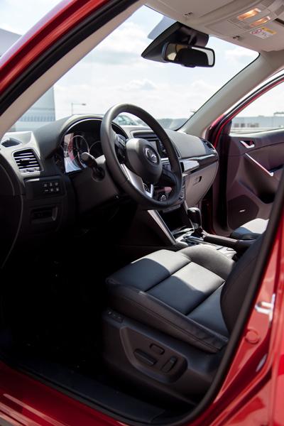 Mazda CX5_interieur