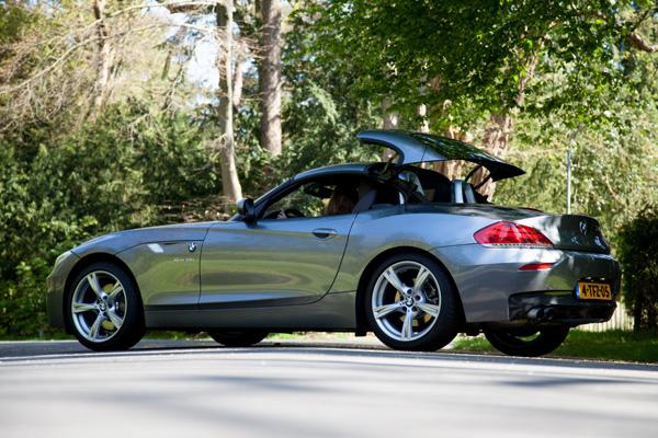 BMW Z4 cabriodak dicht