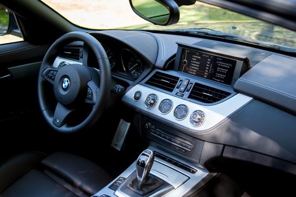 BMW Z4 interieur